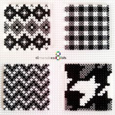Coasters hama beads by elmundoen8bits More