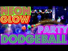 Neon Glow Party Event Ideas Birthday, youth, church, parties