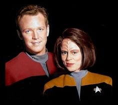 B'Elanna has a lot of anger, but also grows a lot over the series.
