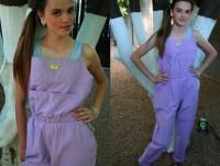 A-Smile Gelati Pastel Overalls. Mine were light blue. Pink was the most popular pair.