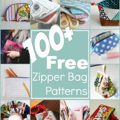 February is National Embroidery Month and I wanted to celebrate in style. So, I've rounded up over 100 free embroidery designs to help keep you inspired! free Embroidery Designs Please remem Pouch Pattern, Purse Patterns, Sewing Patterns, Sewing Crafts, Sewing Projects, Zipper Bags, Zipper Pouch, Machine Embroidery, Embroidery Designs