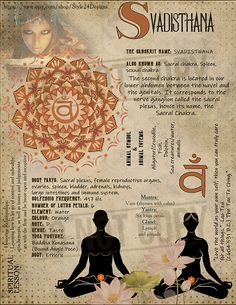The Second Chakra (Svadisthana/ Sexual/ Sacral/ Spleeen ) Chakra Book of Shadows page. The Second Chakra. The ( / is represented by the water Qi Gong, Chakras, Chakra Heilung, Chakra Meditation, Meditation Music, Mindfulness Meditation, Sanskrit, Healing Books, Kundalini