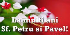 La multi ani Sf. Petru si Pavel!