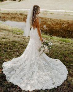 30 Totally Unique Fashion Forward Wedding Dresses ❤ fashion forward wedding dresses lace fit and flare train morilee #weddingforward #wedding #bride #weddingoutfit #bridaloutfit #weddinggown