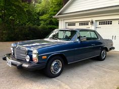 Excellent Condition with original miles! This Mercedes is a one-of-a-kind vehicle (very few coupes were produced in It has been in conditioned storage since my purchase. Everything is original and in working order, with the exception. Mercedes 220, Mercedes E Class Coupe, Mercedes W114, Mercedes Benz Cars, Bmw Classic Cars, Classic Mercedes, Chevrolet Tahoe, Chevrolet Chevelle, Maserati