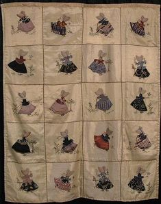 Sunbonnet Sue quilt from the Quilts, Inc Collection - Houston Quilting Festival 2000