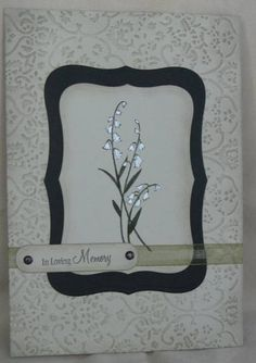Ever After sympathy thank you by skitter - Cards and Paper Crafts at Splitcoaststampers
