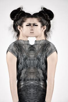 Black Hole by mevlie cesur! Hand dyed and hand sewed garment. The magic of shibori!