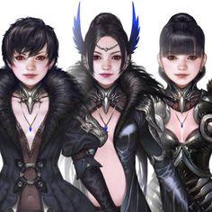 'Flare' crow armor, Asker online, Woo Kim on ArtStation at https://www.artstation.com/artwork/egw8D