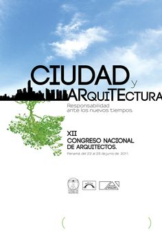 Poster for architects congress
