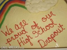 … and some parents don't:   17 Perfectly Passive-Aggressive Cakes
