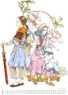 The Twelve Kingdoms Illustration Example, Illustration Story, Old Anime, Manga Anime, Anime Art, Female Character Concept, Character Design, Winter Soldier Wallpaper, The Twelve Kingdoms