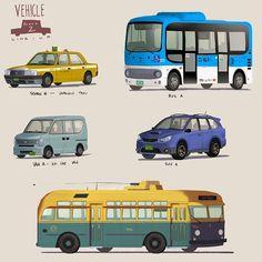 #cars of San Fransokyo #bh6 #art http://ift.tt/1tJ8AOA