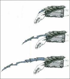 Gauntlet blades