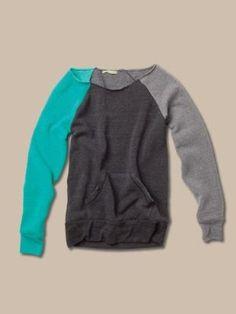 Color-Block Maniac Sweatshirt
