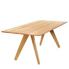 Buy Tom Dixon Slab Dining Table, Oak Online at johnlewis.com