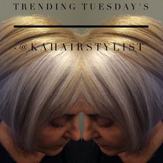 Bringing you #trendingtuesday with this gorgeous silver and gold combo! It was a fave to all! Come visit me @studiofontanato for all your hair colour needs :) #ilovewhatido #kingwestsalons #goldwell #colorance #canadiancolorist #toronto #torontohair #torontolife #kahair #kahairstylist #besthairsalonstoronto #besthairday #greyhair #trendinghair #tuesdays
