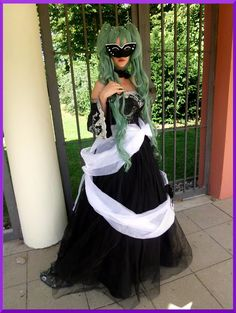 A beautiful Lady~ #cosplay #connichi #vocaloid #miku #mikuhatsune