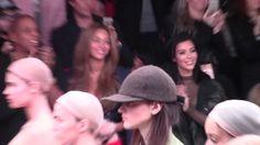 North West hace pataleta y Anna Wintour se ve poco impresionante en el primer show de moda de Kanye