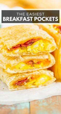 Homemade Breakfast, Delicious Breakfast Recipes, Brunch Recipes, Yummy Food, Breakfast Puff Pastry, Breakfast Dishes, Easy Puff Pastry Recipe, Puff Pastry Dinner Recipes, Recipes Using Puff Pastry