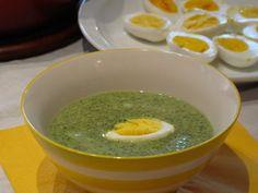 Grönkålsoppa med ägg