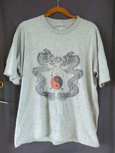 Vintage Japanese Yokosuka Sukajan Dragon Japan Souvenirs Strange Heaven Long Sleeve T Shirt by ArenaVintage