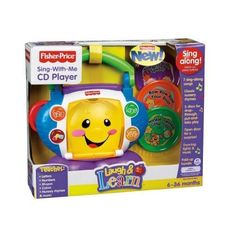 Toy / Game Fisher-Price Laugh & Learn Sing-with-Me CD Player (N8904) with…