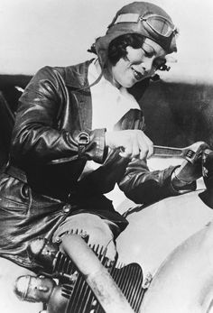 """c. 1930 -- """"Katherine Sai Fun Choung, a young aviator has just got her pilot license and goes back to China, where she will opened an aviation school for girls."""""""