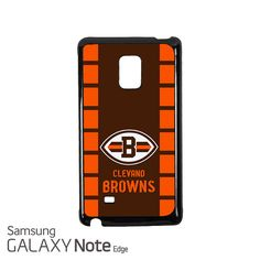 Cleveland Browns Samsung Galaxy Note EDGE Case Cover