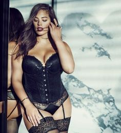 Ashley Graham Stars in Holiday 2015 Lingerie Campaign