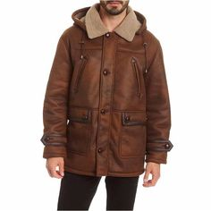 Excelled Leather Excelled Faux Shearling Jacket