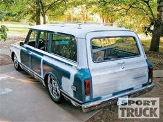 1969 Chevy Suburban - Busted Knuckles - Custom Truck - Sport Truck Magazine