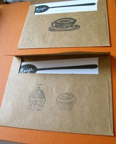 Put your paper crafting skills to work by creating your own recipe book. Instructions at relish.com