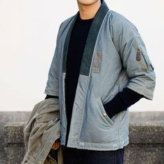 visvim® Sanjuro Kimono Down Jacket | HAVENSHOP