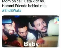 Cute Funny Quotes, Stupid Funny Memes, Pakistani Dramas, Pakistani Dresses, Imran Khan Pakistan, Moms On Call, Top Drama, Feroz Khan, Aiman Khan