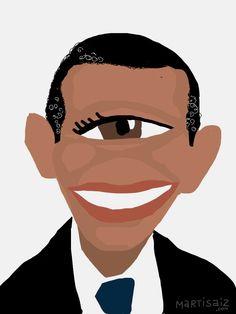 Martí Sáiz   Barack Obama