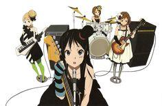 K-On! | Kakifly | Kyoto Animation / Hirasawa Yui, Tainaka Ritsu, Akiyama Mio, and Kotobuki Tsumugi