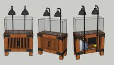 aquarium stand in raw industrial style - Page 11