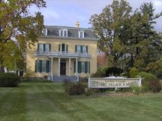 Loop-Harrison House, Michigan. The inspiration for the B & B Levi and Skylar visit.