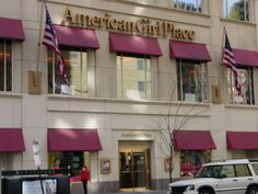 Years ago took winter trip to Chicago to visit the American Girl Store!