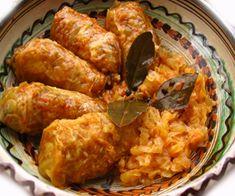 Imagen relacionada Romanian Food, Cabbage Rolls, Pork, Meat, Chicken, Dinner, Recipes, Rice, Kitchens