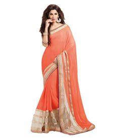 Lavri_Sophi Orange saree