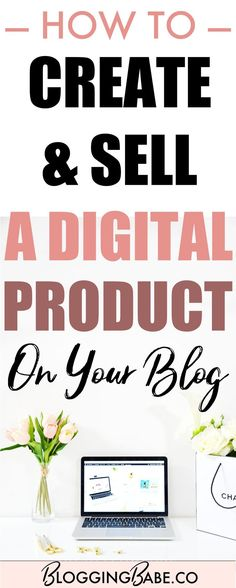 Creating a digital product can be a great way to earn a passive income from your blog. Learn how to create and sell digital products on your blog, quickly and easily, and start making money blogging!