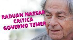 Raduan Nassar critica governo Temer ao receber Prêmio Camões em SP