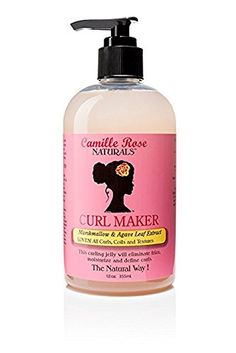 Camille Rose Naturals Curl Maker, 12 Ounce Camille Rose