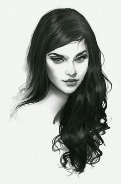 Powerful portrait > The Heart's Confession by Jace-Wallace female face - pencil - drawings Character Inspiration, Character Art, Character Concept, Throne Of Glass, Portraits, Art Girl, Painting & Drawing, Amazing Art, Art Reference