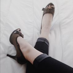 Size 9 Never before worn Deb heels Bought them, never worn them. Excellent condition!! Super cute!!! Deb Shoes Heels