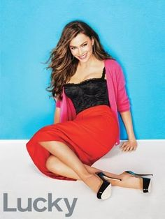 Lucky Magazine Is Charmed By Sofia Vergara In The November Issue
