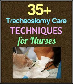 Here's a complete, evidence-based guide to tracheostomy care and suctioning: http://www.nursebuff.com/2014/06/tracheostomy-care/