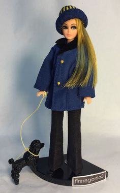 Vintage Topper Dawn Doll In Clone Coat